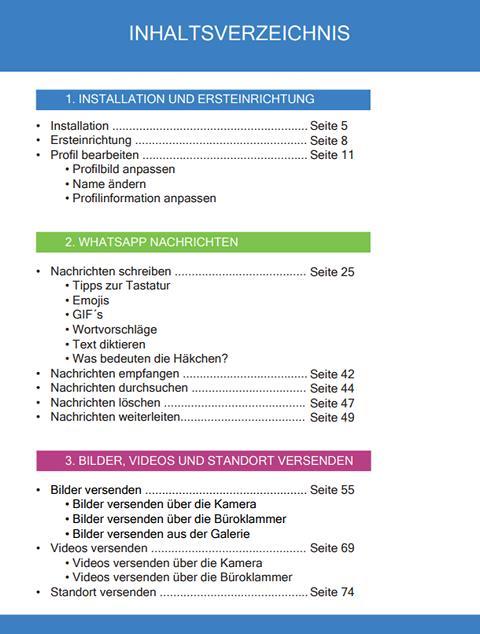 K640 Inhaltsverzeichnis 1